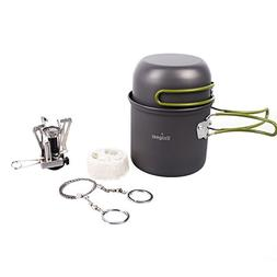 Unigear Camping Cookware Pot, Camping Hiking Backpacking Fis
