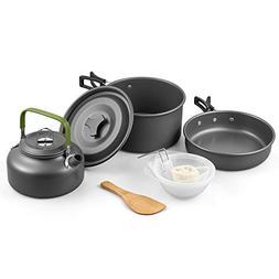 Terra Hiker Camping Cookware, Nonstick, Lightweight Pots, Pa