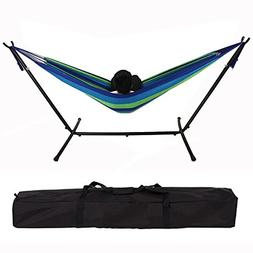 INNOSMART Camping Double Hammock Chair Bed with Stand and St