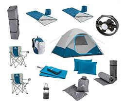 good! Camping Equipment Family Cabin Tent Sleeping Bag Chair