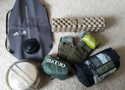 Camping Gear Lot MSR,KLYMIT, TERMAREST, SEA2SUMMIT+ MORE!!!