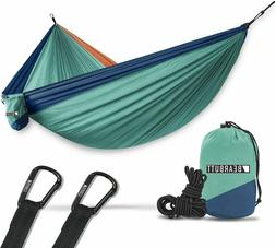Camping Hammock for Outdoors, Backpacking & Camping Gear Dou