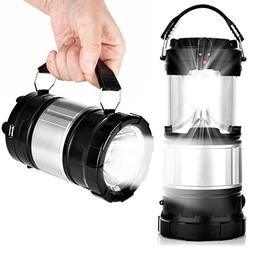Dreamyth Camping Hiking Portable Solar Lantern Solar Recharg