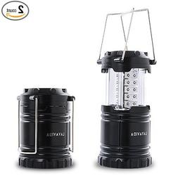 LAVAVIDA LED Camping Lantern - 2 Pack Safety Lamp Light for