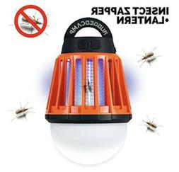 Rugged Camp Camping Lantern and Bug Zapper - Rechargeable LE
