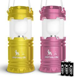 MalloMe LED Camping Lantern Flashlights for Backpacking & Ca