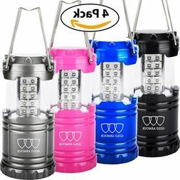 LED CAMPING LANTERN FLASHLIGHTS - HURRICANE EMERGENCY TENT