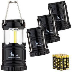 MalloMe Camping Lantern LED Flashlights Gear - Emergency Bat