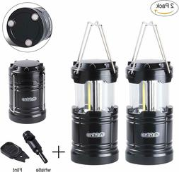 Camping Lantern, LED Lantern Lights with Magnetic Base 2 Pac