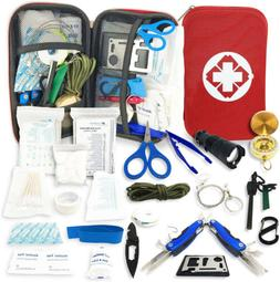 Camping Medical First Aid Kit Military Tactical Portable Sur