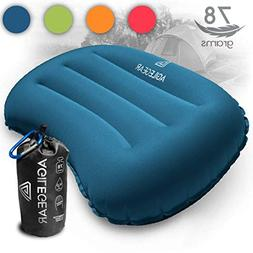 Agile Gear Camping Pillow - Inflatable Ultralight Camp and B