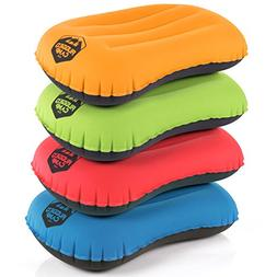 Camping Pillow - Inflatable Travel Pillows - Multiple Colors