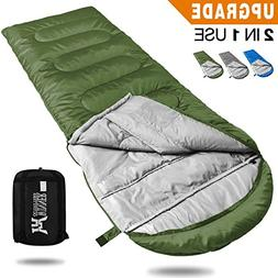 WINNER OUTFITTERS Camping Sleeping Bag, Portable Lightweight