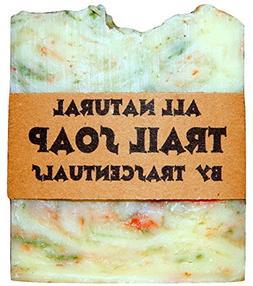 Camping Soap and Shampoo Bar W/ Case All Natural Biodegradab