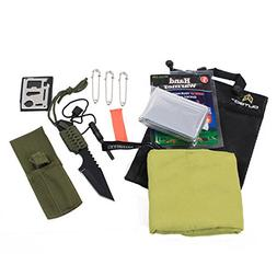 Outdoor Camping Survival Safety Kit ASR Safety and Emergency