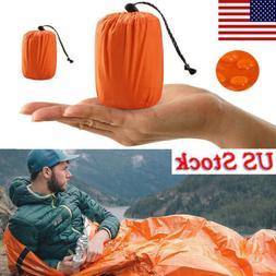 Camping Thermal Sleeping Bag Emergency Survival Hiking Blank