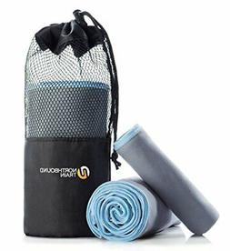 camping towel set with quick dry technology