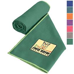 Wise Owl Outfitters Camping Towel - Ultra Soft Compact Quick