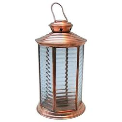 Armor Venue Candle Lantern 6 Side Glass Outdoor Camping Gear