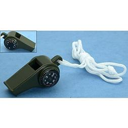 SE CCH3-1 3-in-1 Green Compass Whistle