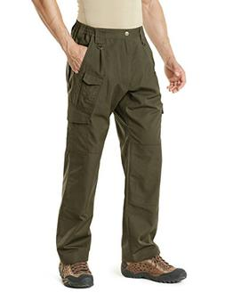 CQR CD CQ-TLP105-TDR_38W/32L Men's Tactical Pants Lightweigh