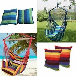 Chair Hanging Rope Swing Hammock Outdoor Sleeping Gear Porch