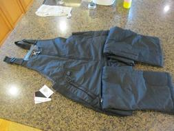 Women's Insulated Overalls Bib, Small, Black