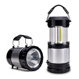 Odoland COB 4 Packs/2 Packs LED Lanterns, 300 Lumen LED Camp