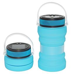 Auchee Collapsible Solar Camping Lantern -SOS Magnetic USB R