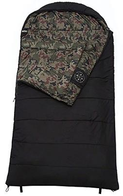 Tough Outdoors The Colossal Winter Sleeping Bag - XXL Hooded