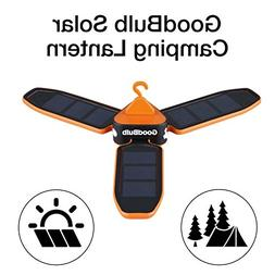GoodBulb Compact Solar Lantern - Folding Lantern - Camping G