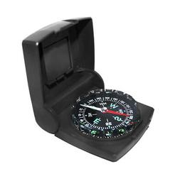 Compass - Clip On, Folding, Black Color, 2x2.5in. Overall