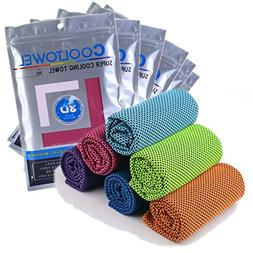 Cooling Towel For Neck Instant Cooling Relief, Ice Cold Band