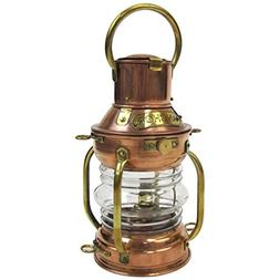 Armor Venue Copper Ship Light - Anchor Lamp - with Oil Lamp