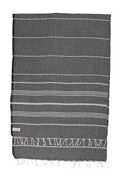 Bersuse 100% Cotton - Anatolia XL Throw Blanket Turkish Towe