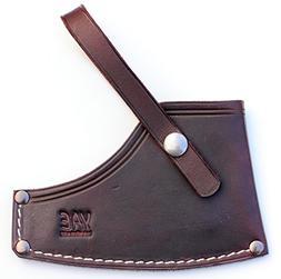 Custom leather double axe sheathe handmade