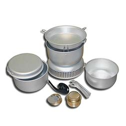 Igo Online Shop Out-D 8 Piece in 1 Camping Cookware Set Stov