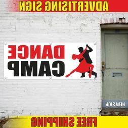 DANCE CAMP Advertising Banner Vinyl Mesh Decal Sign SPORT GO