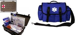Ultimate Arms Gear Deluxe Blue Emergency Survival Rescue Bag