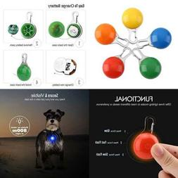 Pawaboo Dog Collar LED Light,  Weather Resistant Clip-on Dog