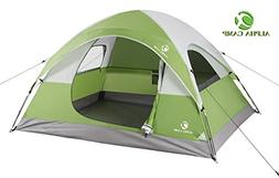 ALPHA CAMP 3 Person Tent for Camping Backpacking - 8' x 7' G