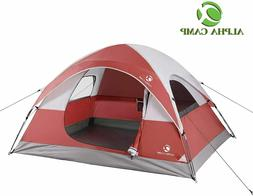 ALPHA CAMP 3 Person Dome Tent for Camping 3 Season Lightweig