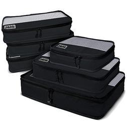 Dot&Dot 6pc Packing Cubes First Class Travel Organizer Set f