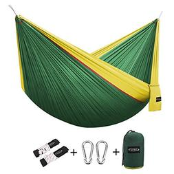 G4Free Double Camping Hammock - Portable High Strength Hammo