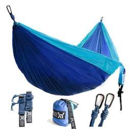 Double Camping Hammocks Portable Outdoor Sleeping Gear Light