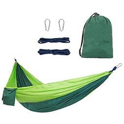 Legit Camping Double Hammock - Lightweight Parachute Portabl