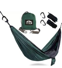 K2 Camp Gear Double Size Camping Hammock Hiking Gear K2 Outd