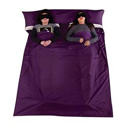 double sleeping bag liner lightweight