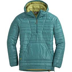 Outdoor Research Women's Down Baja Pullover, Washed Peacock/