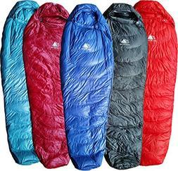 Hyke & Byke Down Sleeping Bag for Backpacking – Shavano 32